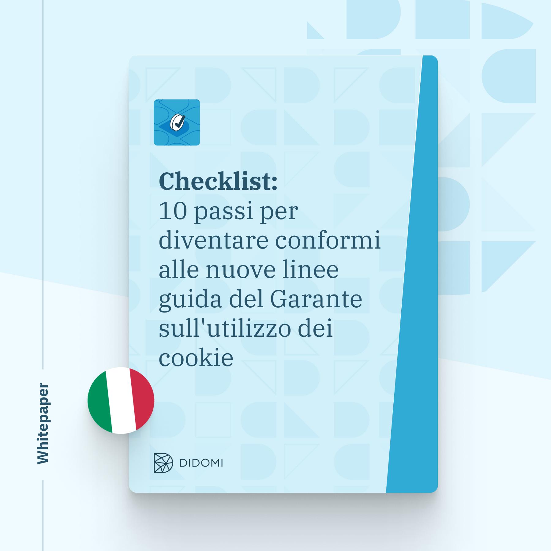 The Garante checklist pdf - (BigSquare)