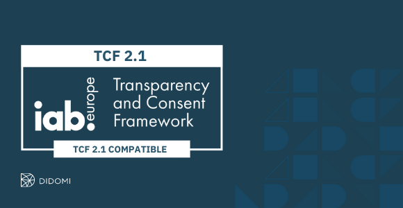 Mithilfe von Didomi können Sie TCF v2.1-konforme Einwilligungen einfach einholen